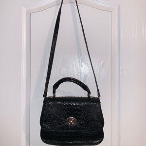 Marc Fisher faux alligator crossbody purse
